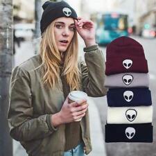 Winter Women Men Cute ET Knit Ski Crochet Hats Cap Alien Beanie Warm Hip-Hop Hat
