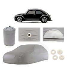 New Volkswagen Super Beetle 4 Layer Car Cover Fit Water Proof Snow Rain Sun Dust