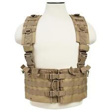 AR Chest Rig Tactical 12 Magazine Field Operators Vest 223 556 762 Coyote Tan.