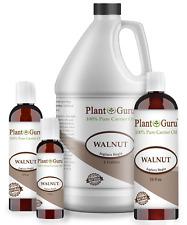 Walnut Oil Cold Pressed 100% Pure Natural Organic Refined 2 oz to Gallon