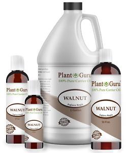 Walnut Oil Cold Pressed REFINED 100% Pure Natural 2 oz to Gallon