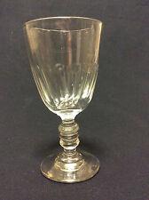 BACCARAT H 10,8cm verre Charles X  Gondole Médicis côtes plates Circa 1829