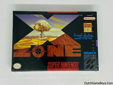 X Zone - USA - New & Sealed - Super Nintendo - SNes