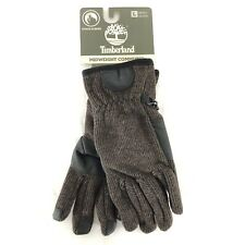 Timberland Mens Midweight Commuter Gloves Wool Blend Touchscreen Brown Size L