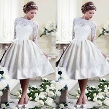 Womens Lace Dress Halter Evening Formal Cocktail Party Ball Gown Prom Bridesmaid S