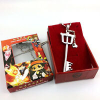 New Anime Kingdom Hearts II Sora Key Blade Necklace Cosplay Necklace