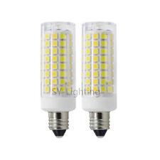 E11 Mini Base LED bulb 102-2835 Ceramics Lamp 110V Ceiling Fans Light White/Warm