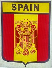 Original Vintage Spainish Flag Iron On Transfer Spain