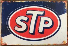 STP Motor Oil Garage Rustic Look Vintage Tin Signs Man Cave, Shed & Bar Sign