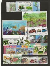 Malaysia 1999-2012 sixteen sets and 12 miniature sheets all MNH
