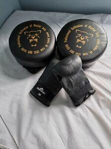 Maxx Taekwondo Thicken Target Foot Kicking Punching Boxing Sponge Protective Pad