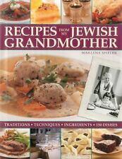 Recipes from My Jewish Grandmother, Spieler, Marlena, Good Book