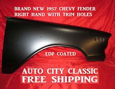 1957 Chevrolet Fender Right Passenger Side With Trim Holes