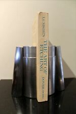 STAINLESS STEEL Injection Mold BOOKENDS - Made From A REAL Screw Mold
