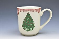 Johnson Brother Old Britan Castles Red Pink Green Christmas Tree Cup or Mugs(s)