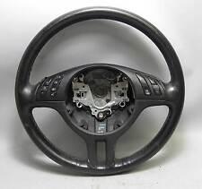 BMW E46 3-Series Factory Sports Multifunction Steering Wheel 3 Spoke 2000-2006