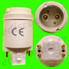 G24q/GX24Q zu BC B22 4 Stecknadel Adapter Steckdose Wandler Lampenfassung