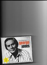 "GEORGE JONES, 3 CD SET ""THE ESSENTIAL"" NEW SEALED"