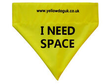 """Yellow Dog UK """"I NEED SPACE"""" Lead Flag for nervous, anxious dogs that need space"""