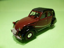 NOREV 1:43 CITROEN 2CV6  CHARLESTON  - RARE SELTEN - VERY GOOD