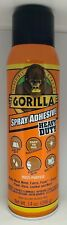 Gorilla Heavy Duty Spray Adhesive, Multipurpose and Repositionable, 14 ounce,