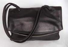 BEAUTIFUL BLACK LEATHER SHOULDER BAG HANDBAG MONTBUI