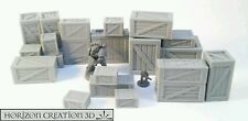 HC3D - Crates Variety Lot #2 - 22 Pack-Terrain & Scenery - 40k 28mm