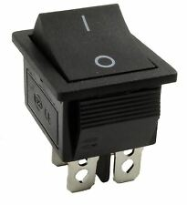 Off(On) Momentary Rectangle Rocker Switch DPST