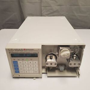 Shimadzu LC-10AD HPLC Pump, flow tested, works great