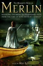 Mammoth Book Of Merlin by Jane Yolen, Marion Bradley, Robert Holdstock SC new