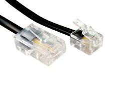 10m Metre RJ11 to RJ45 Ethernet 4 pin Modem Internet Router ADSL Telephone Cable