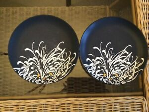 Denby Monsoon Chrysanthemum Salad Plates (2)