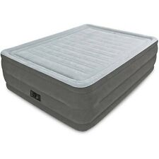 "Intex Full 22"" DuraBeam Airbed Mattress with Built-in Pump New Free Shipping"
