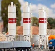 Faller Industrial Silos (3) Building Kit IV N Gauge 222207