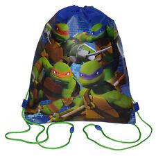 x12 TEENAGE MUTANT NINJA TURTLES Sport Sling Bag Drawstring Backpack PARTY FAVOR