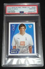 2007 Merlin Premier League Gareth Bale Rookie Sticker RC PSA 10 Gem Mint  POP 1