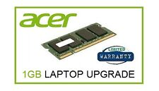 1GB Ram Memory Upgrade for Acer Aspire One A110 A150 and ZG5 ZG8 Netbook Laptop