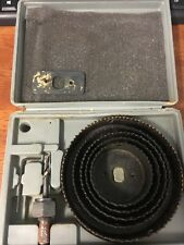Large  Hole Saw Kit Pre-owned