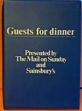 Recipes-1982-Guests for Dinner by Mail on Sunday & Sainsbury-part 1,2,3 & 4-Rare