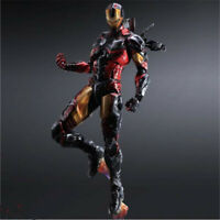 Avengers Play Arts Kai Iron Man Cosplay Model Action Figure PVC Ornament Gift