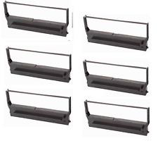 6 x Ink Ribbon for Epson ERC-11 M505 M515 TM-545 Sharp Er 52 5200 5210 Nylon