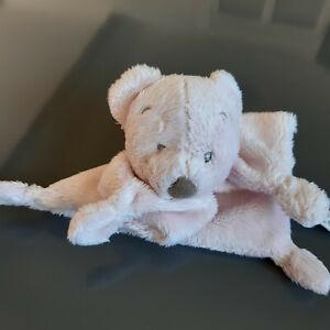 Doudou Simba/Nicotoy ours beige plat