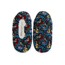 FUZZY BABBA DISNEY PRINCESS WOMENS SLIPPER SOCKS SIZE S/M NEW WITH TAGS