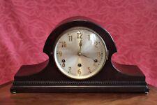 Vintage Art Deco Alemán Drgm Mantel Clock de 8 días con carillones de Westminster