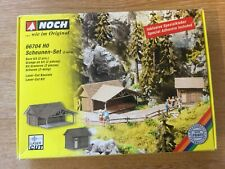 NOCH 66704 Barn Kit Plastic Models for Railway Layouts Boxed