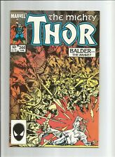 The Mighty Thor #344 First Appearance Malekith Marvel comics NICE COPY