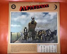 Molina Campos Calendar | 1936 | Rare | Complete | Gaucho | Excellent