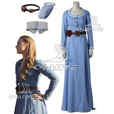 4424b6bb3a Westworld Dolores Abernathy Cosplay Costume Blue Long Dress Custom Made Any  Size