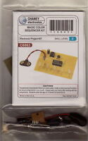 LED CHASER SEQUENCER kit UNBUILT electronic IC FLASHER MULTI-COLOR project DIY