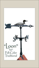 "Whitehall LOON 30"" Rooftop Color Weathervane & Mount PRICE REDUCTION Ships FREE"